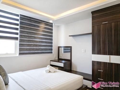 Vỏ chăn sọc 3cm dành cho khách sạn